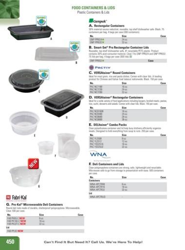 16-oz WNA APCTR16 500 Containers Deli Containers
